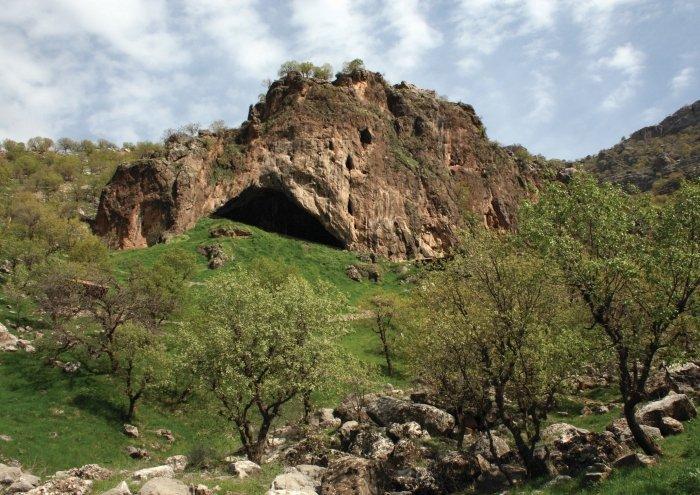 Ритуал возрастом 70 тысяч лет. Неандертальцы могли бросать цветы в могил...