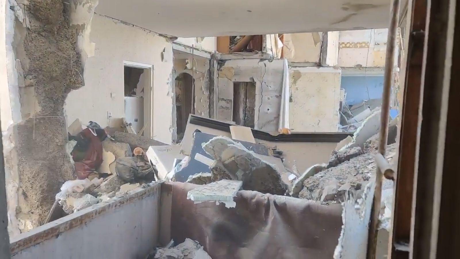 Взрыв дома на Позняках: появилось видео из разрушенных квартир