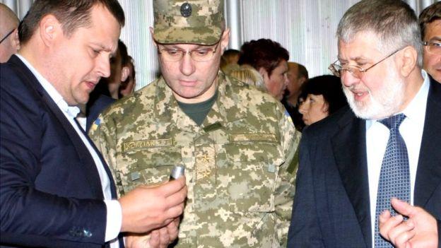Хомчак рассказал о своих отношениях с Коломойским