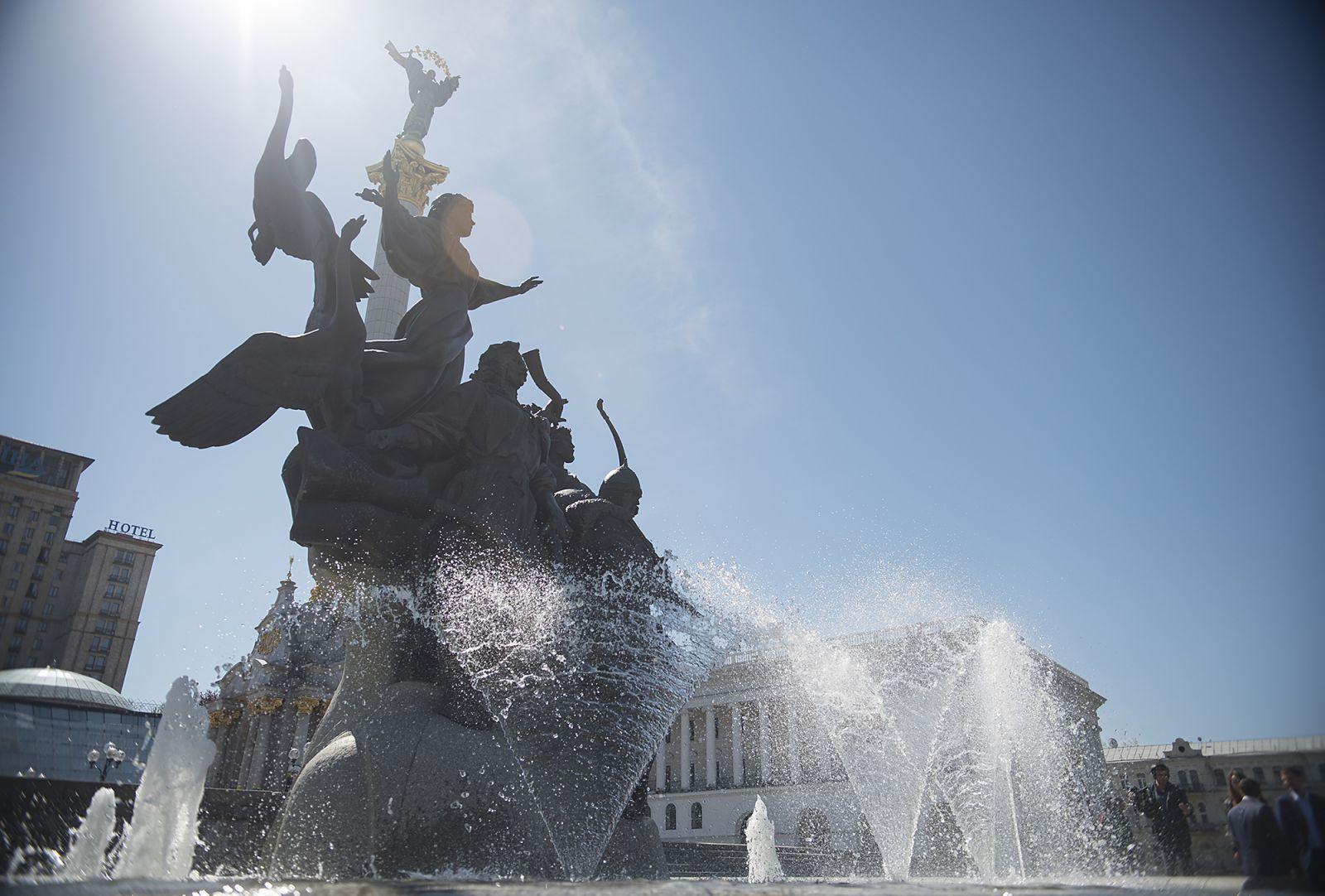 """Викторина и """"Пробег под каштанами"""" онлайн. День Киева в этом году отпраз..."""
