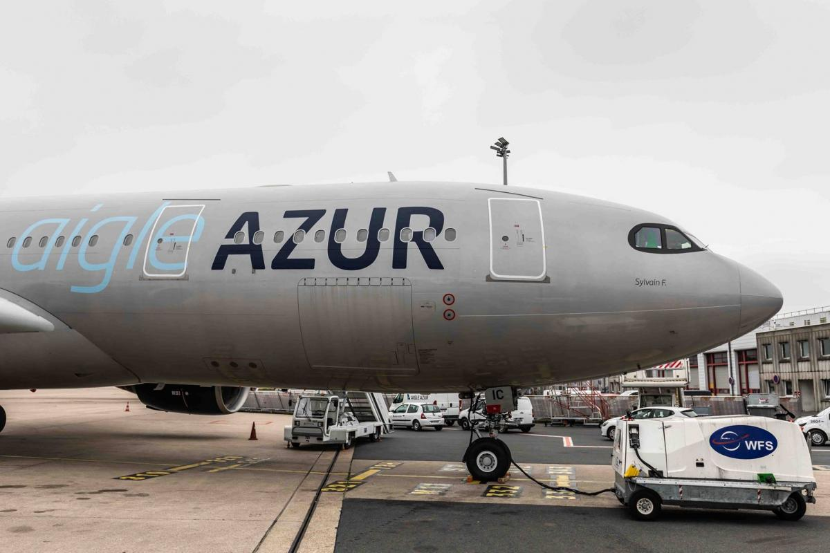 Вторая по величине французская авиакомпания отменила все рейсы в Украину