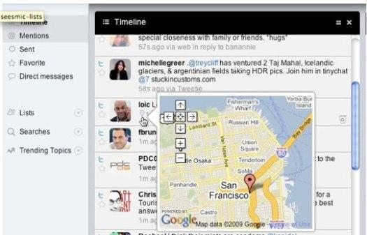 Twitter научился определять местоположение микроблогеров