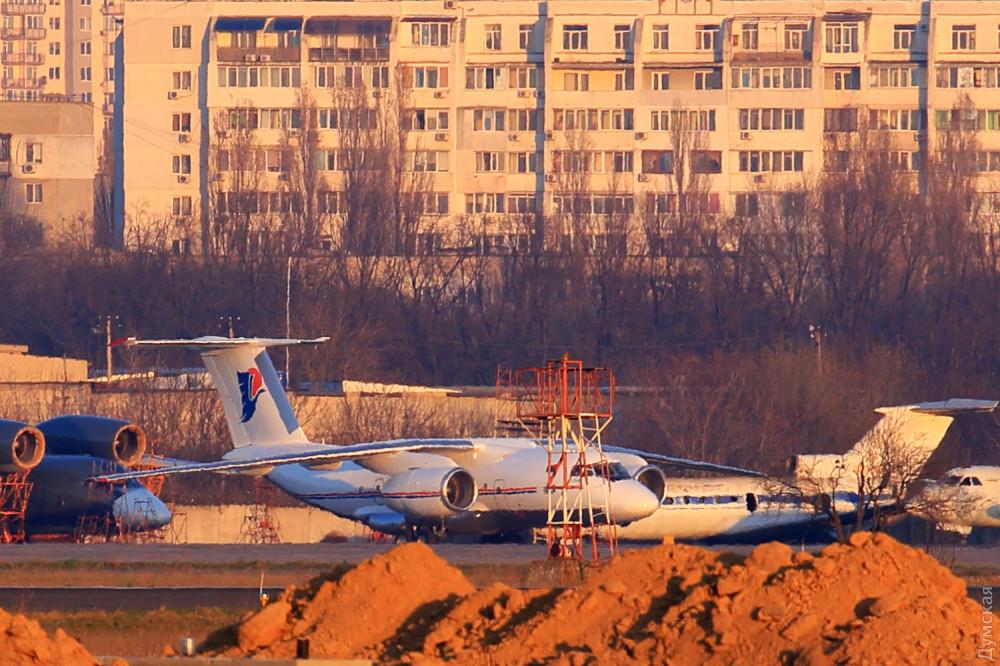 В Одессе ремонтируют самолет, на котором летал Каддафи