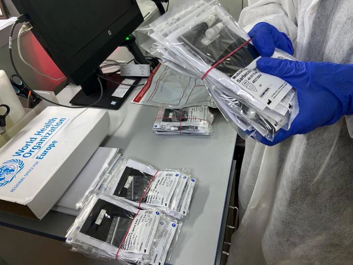 Тесты на проверку коронавируса