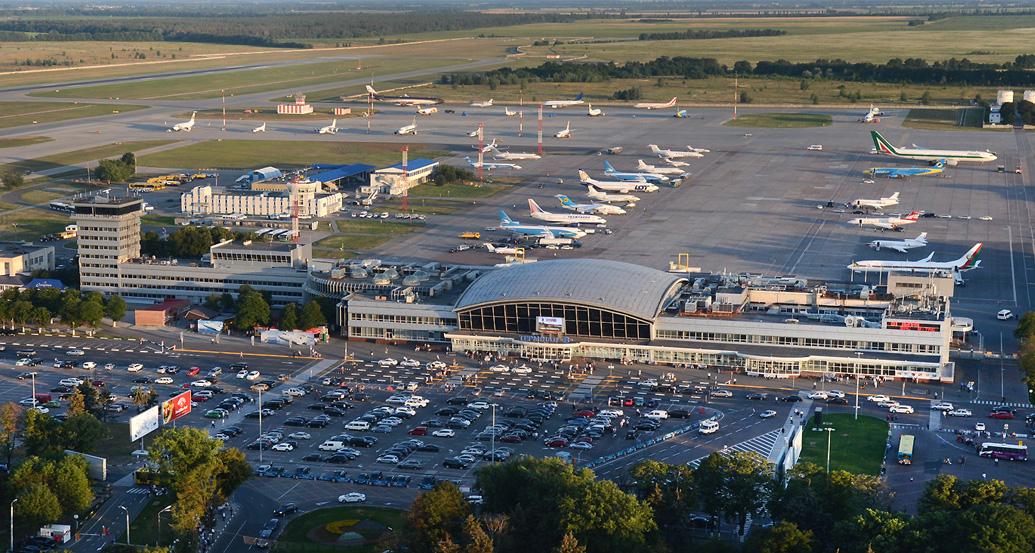 Цены за парковку в аэропорту Борисполь увеличили в два раза