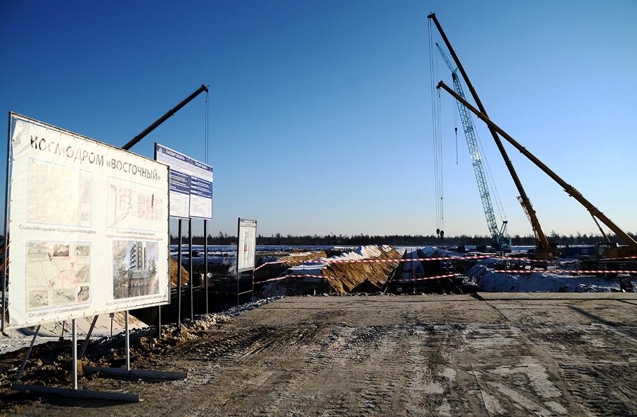 7,5 млрд руб. украдено на строительстве космодрома Восточный в РФ