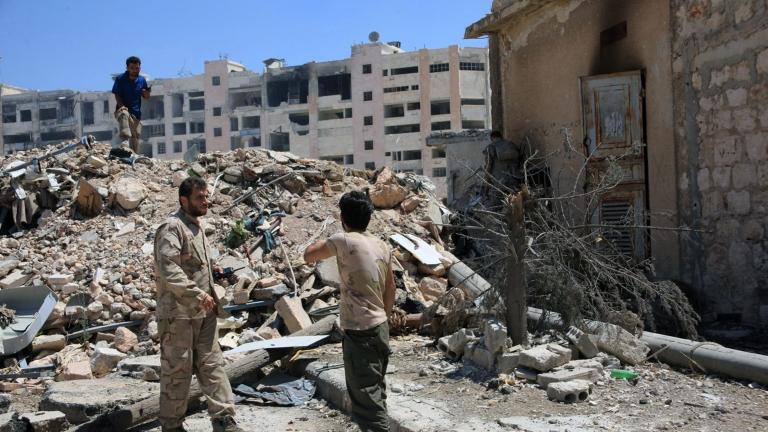Авиация Асада впервые ударила по курдам в Сирии