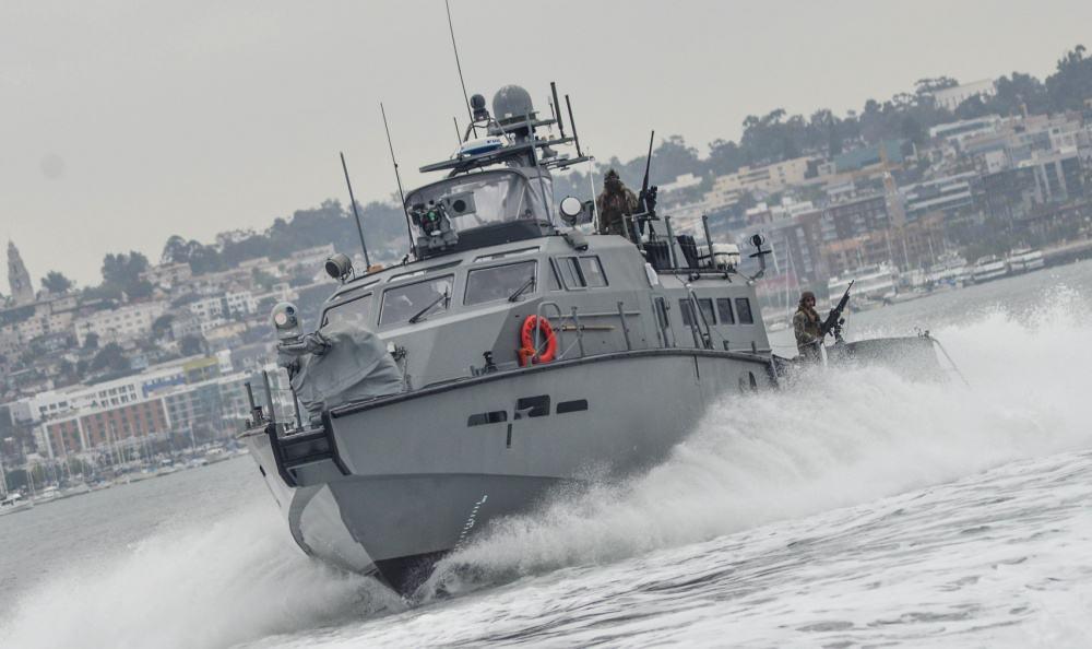 Пентагон передаст Украине два военных катера с 30-миллиметровыми пушками...