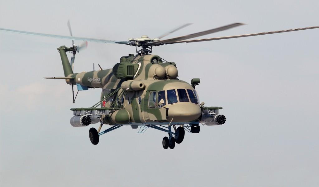 В Сирии сбит российский вертолет, никто из экипажа не выжил