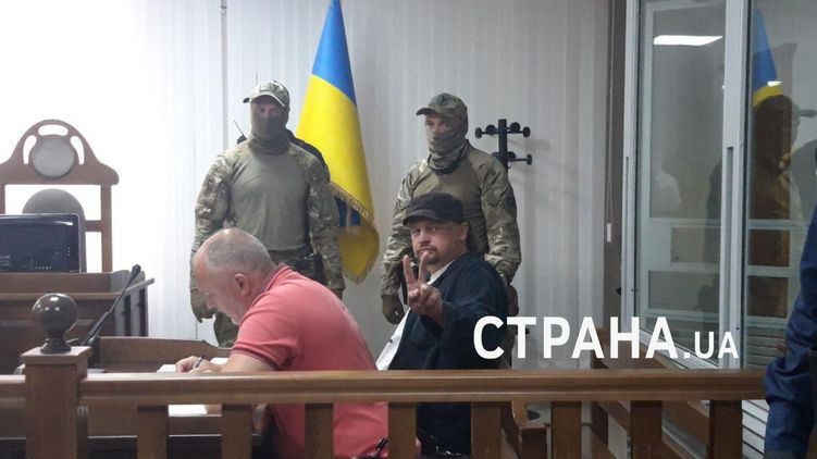 Луцкого террориста Максима Кривоша взяли под стражу на 60 суток