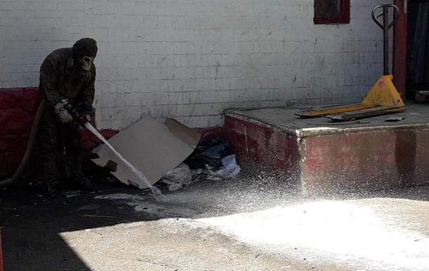 В Хмельницкой области на почте произошла утечка химикатов