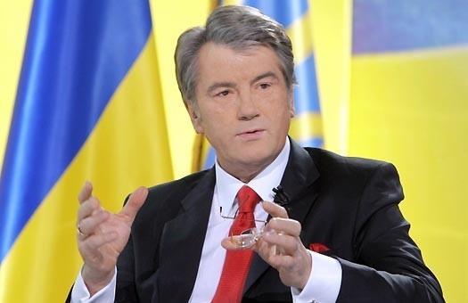 Ющенко уехал в Польшу получать степень доктора