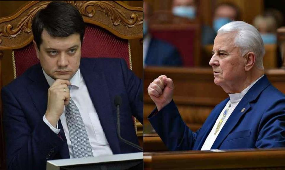 Разумков: в Раду не поступало никаких писем по Донбассу от Фокина