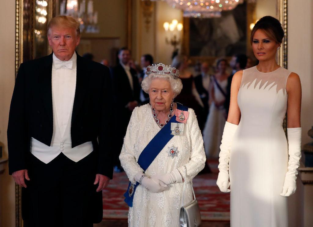 Гала-ужин в честь президента США: Мелания Трамп, Кейт Миддлтон и Елизаве...