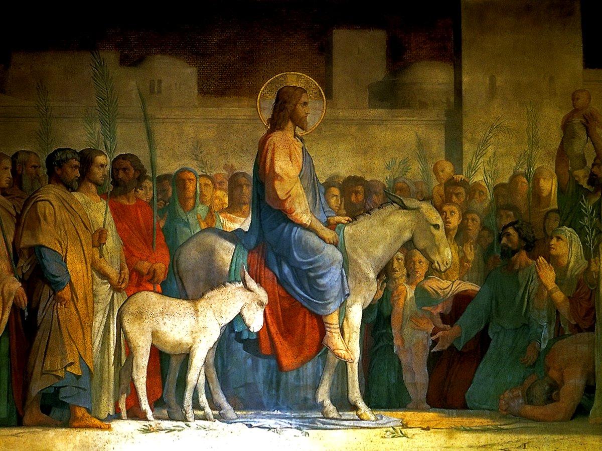 Православные христиане отмечают сегодня вербное воскресенье