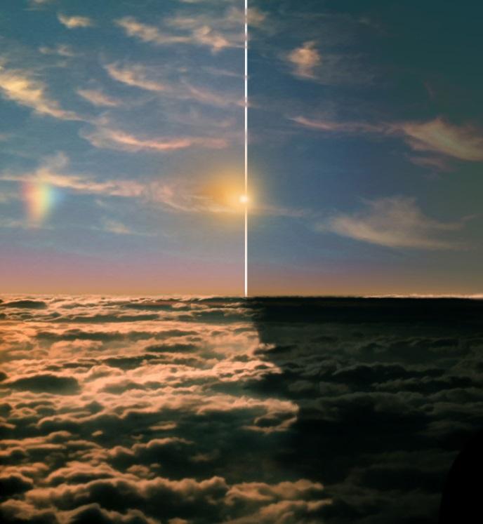 кольца Сатурна, Земля