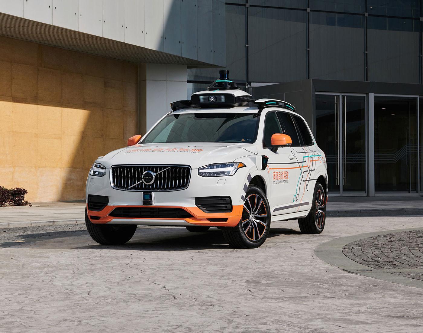 Volvo и преемник китайского Uber разрабатывают роботакси на базе внедорожника XC90