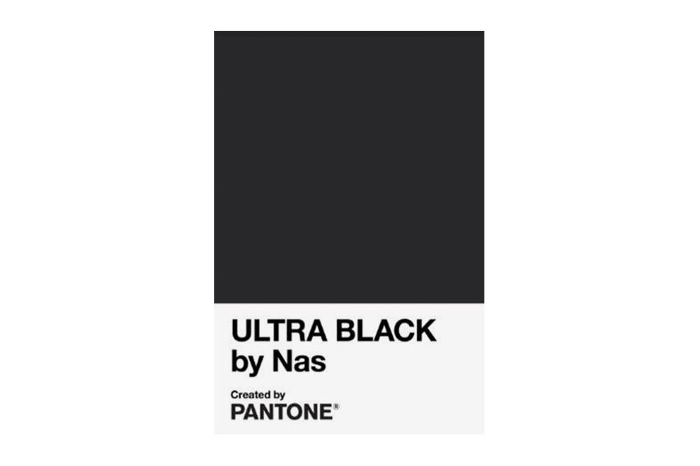 """Институт цвета Pantone и рэпер Nas создали символический """"ультра черный""""..."""