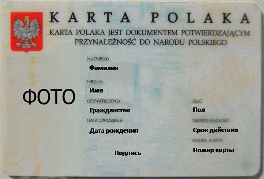 Карту поляка теперь будут раздавать во всех странах мира