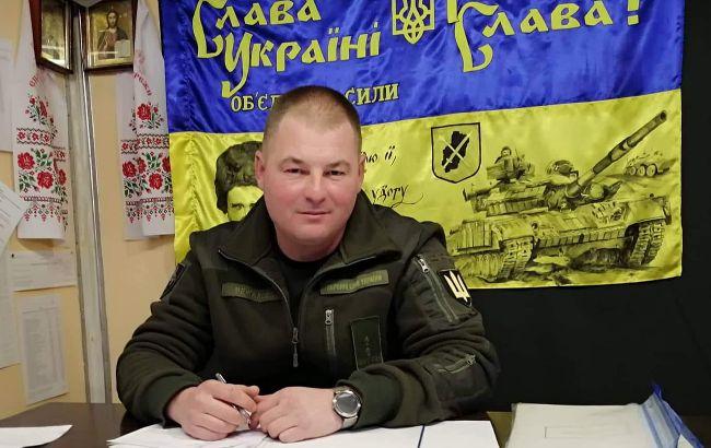 На Донбассе умер командир танковой бригады Юрий Межаков