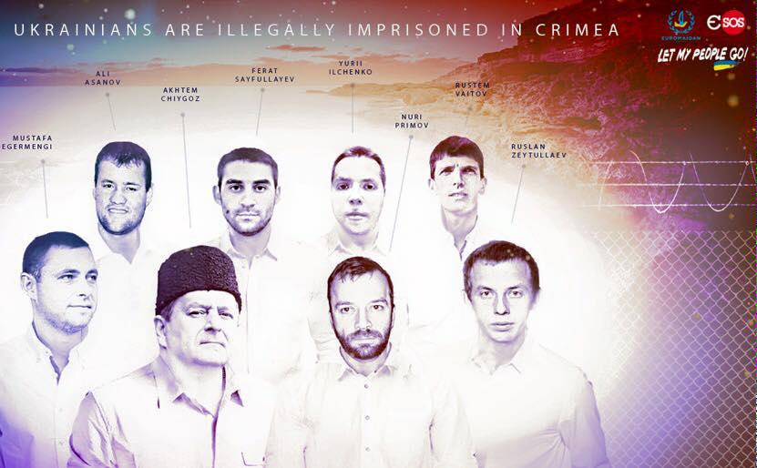 Джемилев: В застенках ФСБ незаконно удерживаются 14 крымских татар
