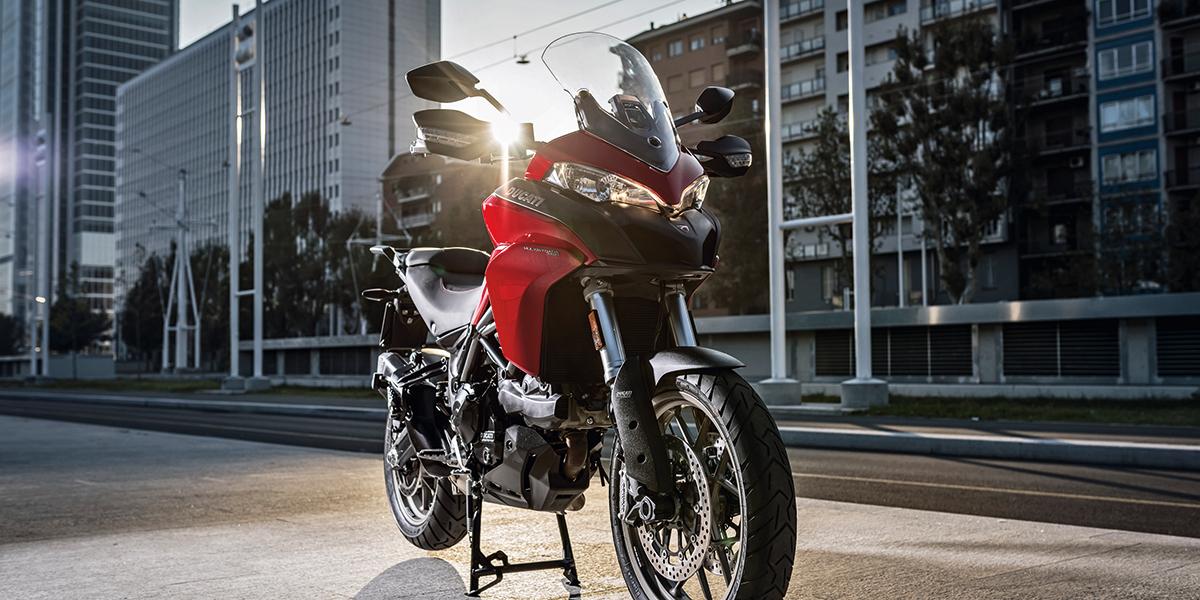 Спустившийся с небес. Ducati Multistrada 950