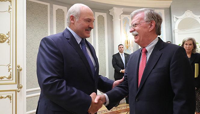 Визит Болтона в Беларусь: Минск и Вашингтон не смогли договориться по проблемным вопросам