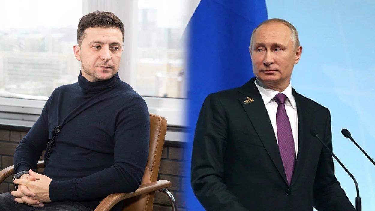 Зеленский впервые поговорил с Путиным по телефону