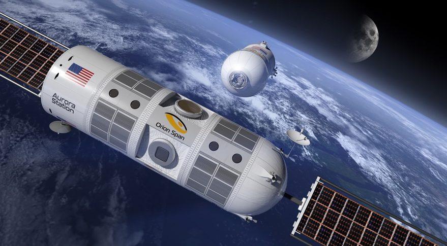 Первый космический отель может открыться в 2022 году