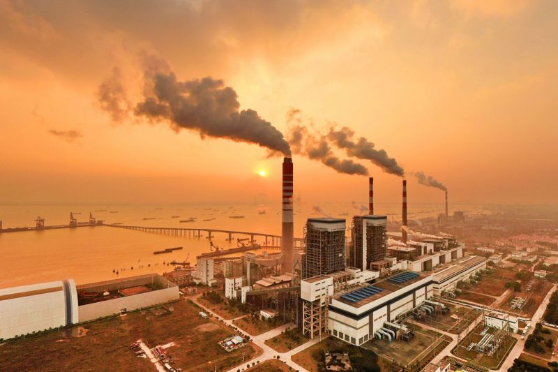 """Вопреки ожиданиям, глобальные выбросы """"энергетического"""" углекислого газа..."""