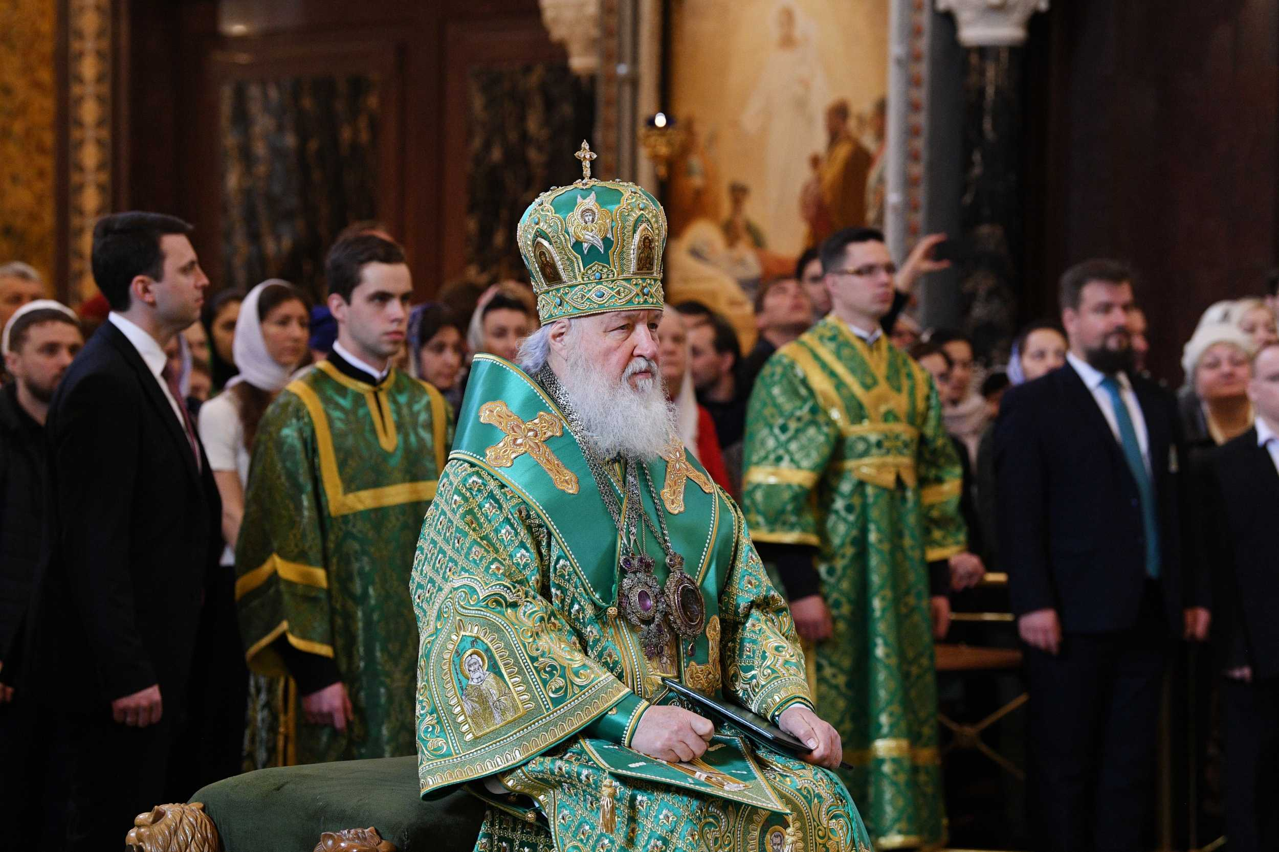 Глава РПЦ пожелал Зеленскому божьей помощи и мудрости
