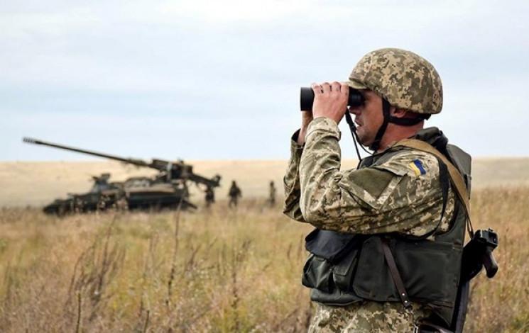 Боевики на Донбассе стреляли из подствольного гранатомета