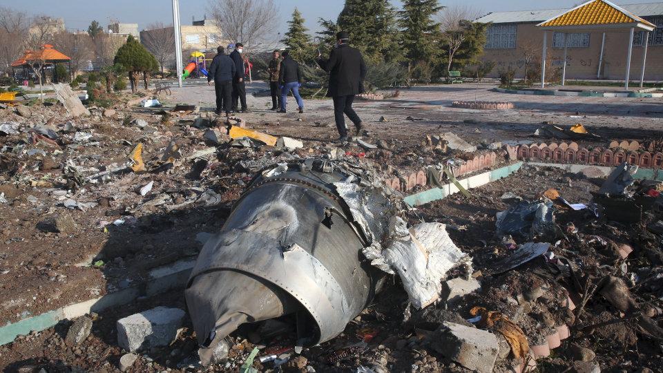 Тегеран официально обнародует свою версию крушения самолета МАУ 11 январ...