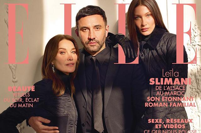 Белла Хадид и Карла Бруни стали новыми героинями нового номера французск...