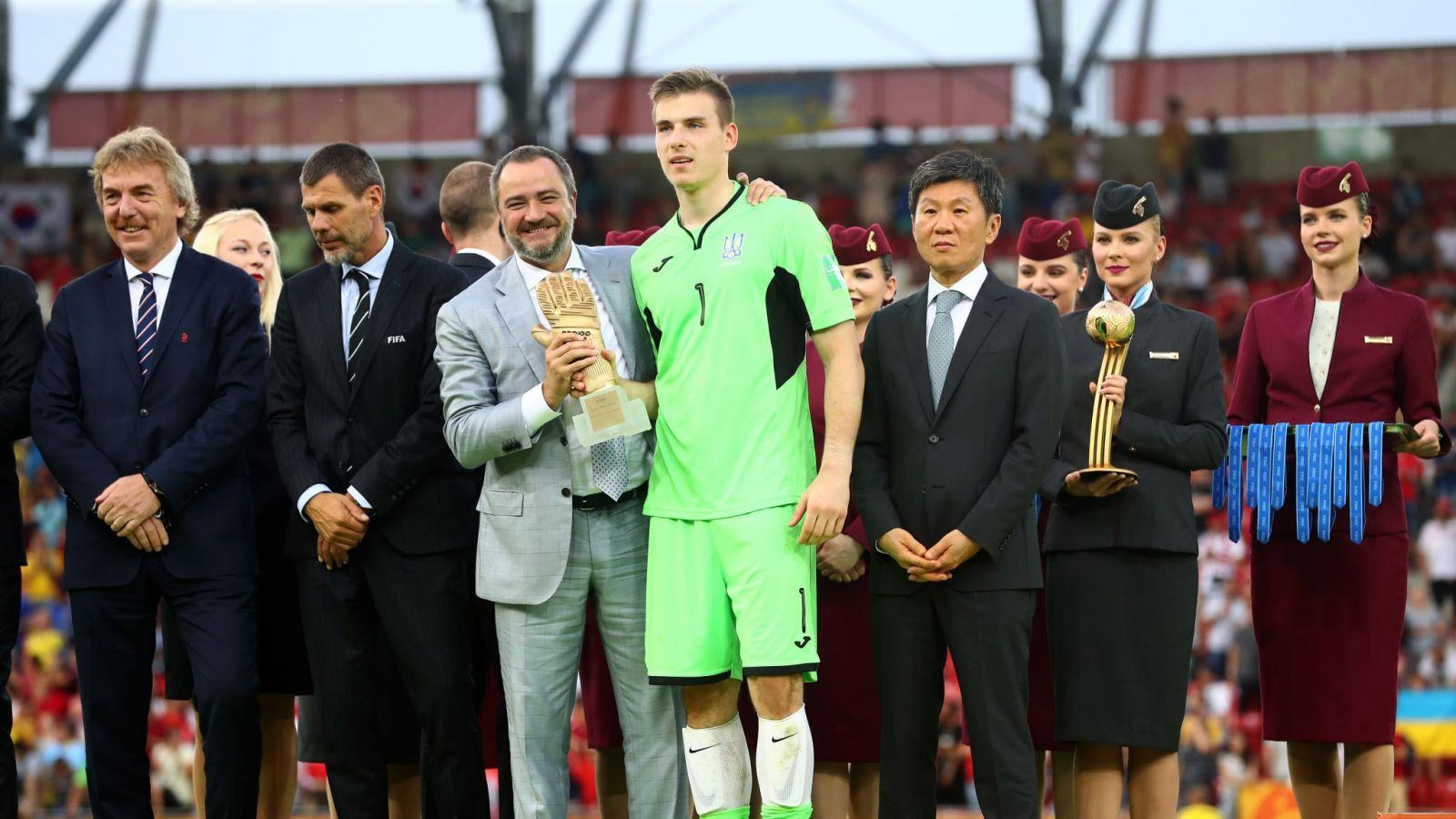 Лунин стал лучшим голкипером Чемпионата мира