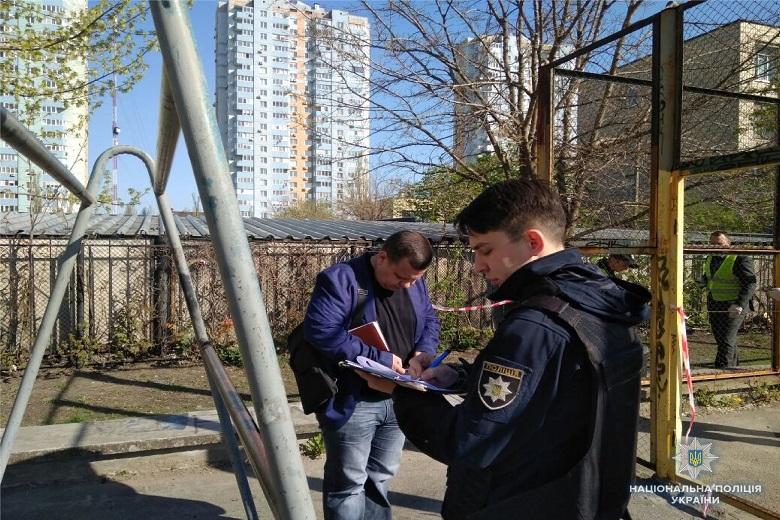 В одном из киевских дворов прогремел взрыв