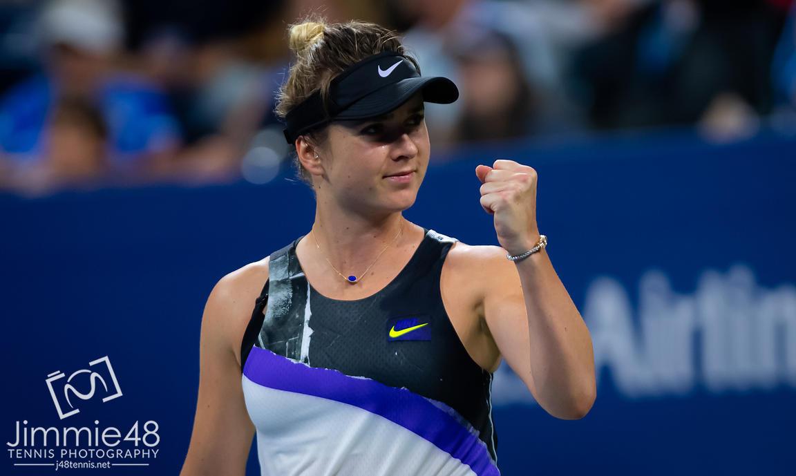 Элина Свитолина установила личный рекорд, выйдя в четвертьфинал US Open