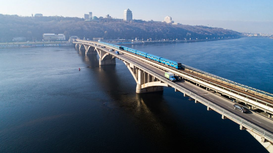 В столице отремонтируют мост Метро за 1,8 млрд грн