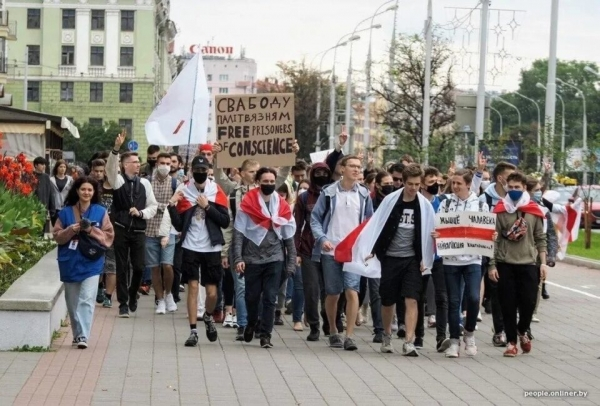 Отчисленным белорусским студентам пообещали помощь с поступлением в Укра...