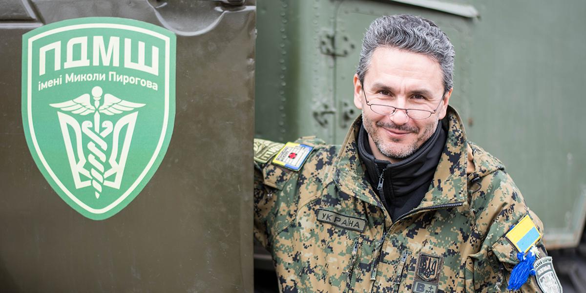 В Донбассе нас принимали за спецотряд НАТО, который под видом медиков го...