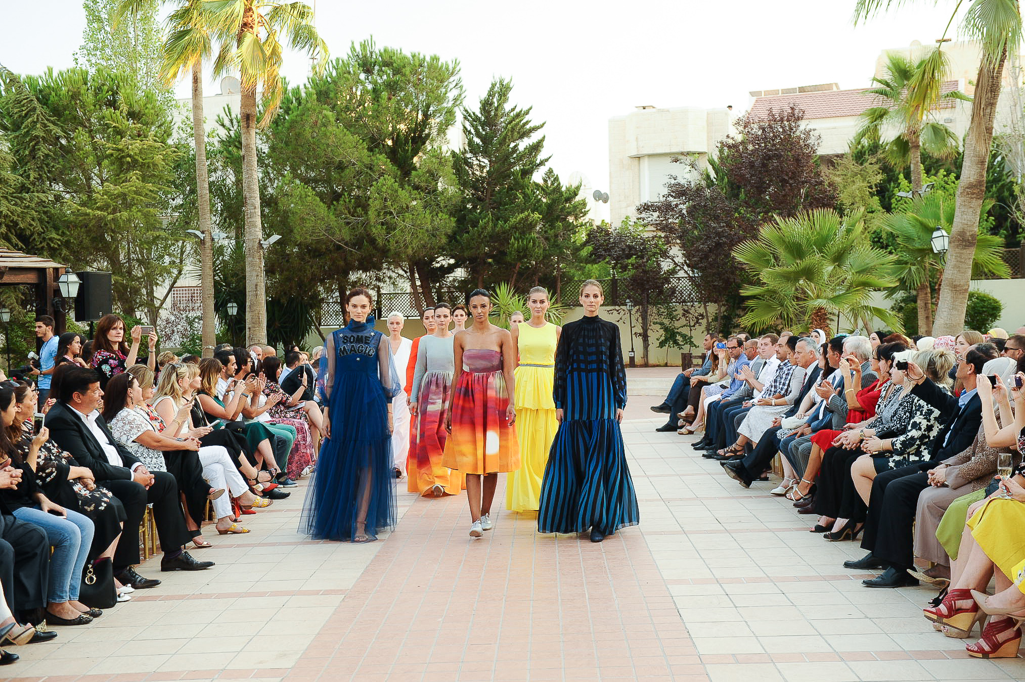 Показ украинских дизайнеров в Иордании
