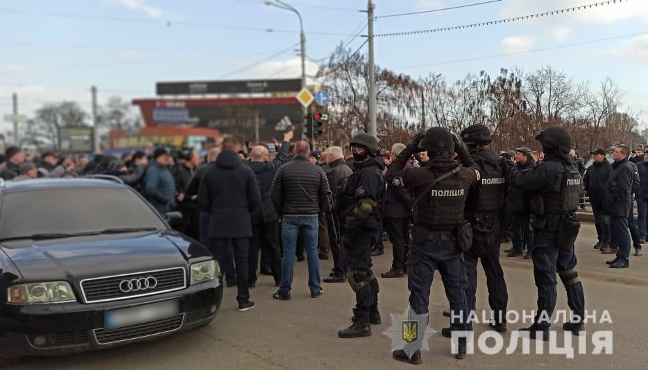 """В Харькове на рынке """"Барабашово"""" прошли столкновения"""