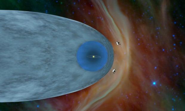 'Вояджер-2' вышел за границу Солнечной системы и передал сигнал
