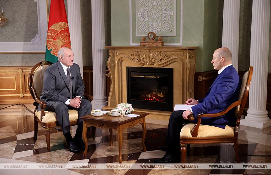 Интервью Лукашенко Гордону: о чем говорил президент Беларуси
