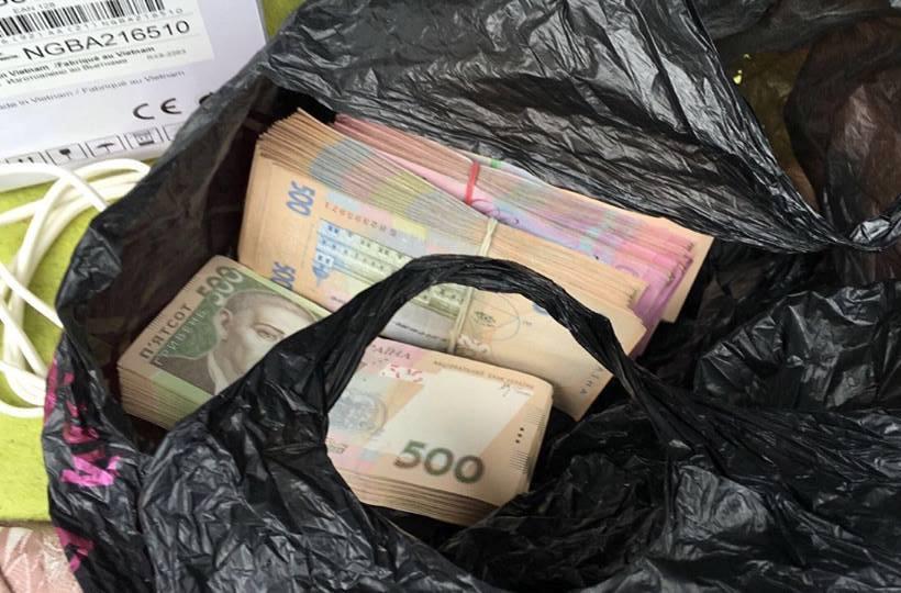 Чиновника АТО поймали на взятке в 230 тыс грн