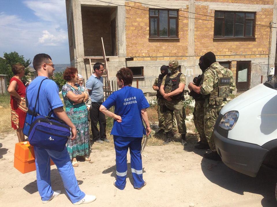 В Бахчисарае задержали водителя жены Джемилева