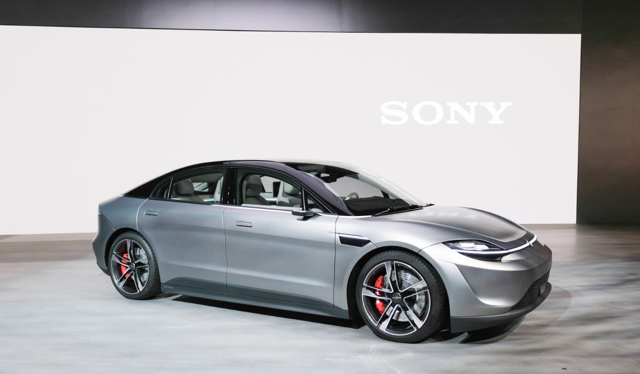 sony, электрокар, авто