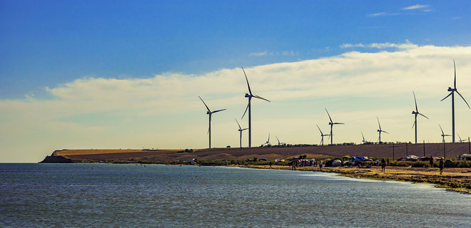 Крупнейшую в Европе береговую ветряную электростанцию построят в Запорож...
