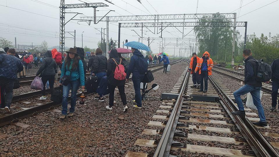 В Польше эвакуировали пассажиров поезда Киев-Перемышль из-за чемодана