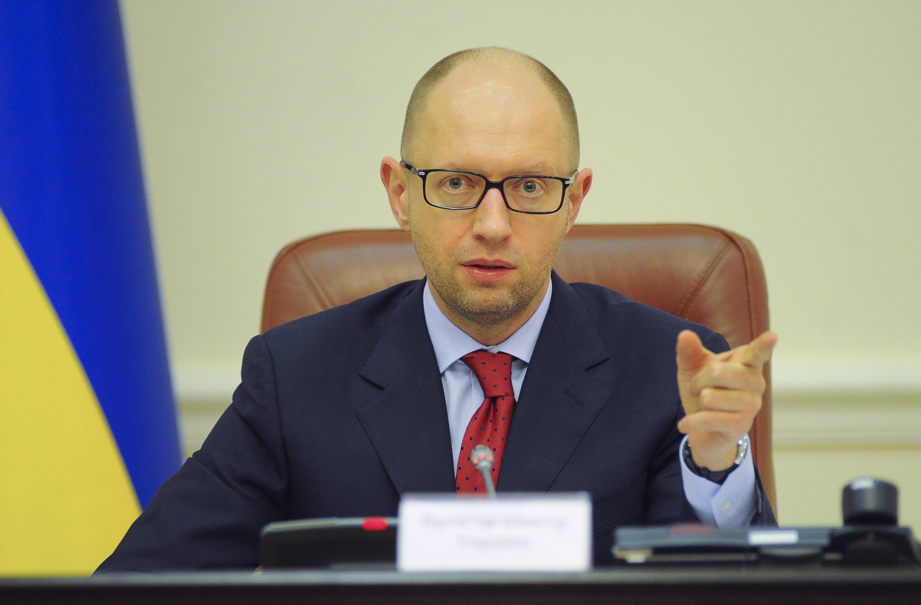 Яценюк поручил немедленно начать выплаты премий участникам АТО